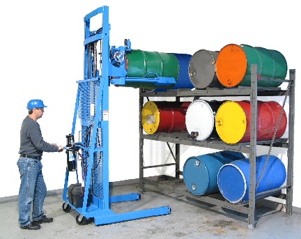 Morse 55 Gallon Drum Handling Equipment Drum Handling