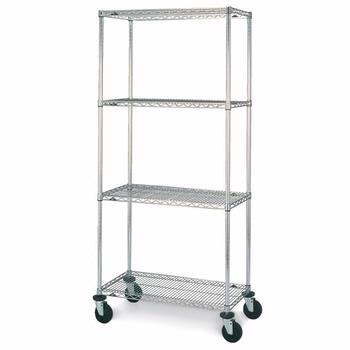Nexel Wire Shelving, Wire Shelving